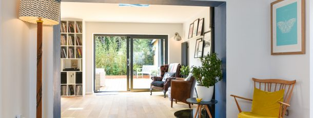 Full house extension and renovation. Hurstpierpoint